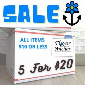 Other - SALE! All items $10 or less now 5 for $20